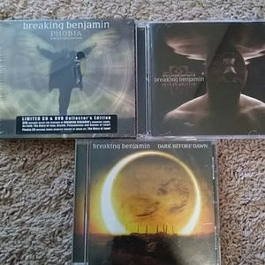 Other - Breaking Benjamin 3 CDs